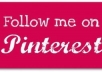 GIVE YOU 300+  PINTEREST FOLLOWERS JUST