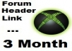 put your link under my PR2 forum header for 3 month