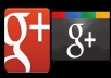 give you 100 + Google Plus one votes