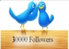 give you 30000+ Twitter Followers without your admin access within 12 hours 