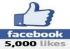 give 5000+ REAL Worldwide Facebook like  to your anpage