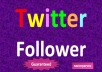 give you 250+250 real twitter followers(NOT EGG) within 72 hours without password only