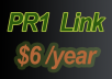 place your link in one of my PR1 site for 1 year