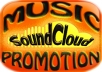 Give u 40k+ Soundcloud Song Plays on up to 5 Tracks