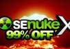 run Senuke xCR to create Google Friendly Backlinks in 72 Hours ★★SEO NukeX gig LOVED★★ ORDER NOW!!!!