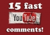 give you 50 custom comments and 50 likes on your youtube videos