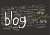 write a ORIGINAL 200 Words post on my PR2 blog