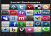 create 1000 social bookmarks to you website/urls+ping