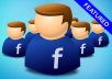 Give you 280 Real Facebook like only