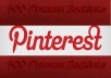 make 500 Pinterest Backlinks, 500 Incoming from PR7 Domain Best Social Media Signals to Boost Google Rankings and Traffic, Social Signals