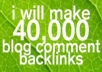 make 39,989 blog comment backlinks