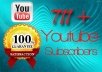 Offer you 711 + Youtube Subscribers