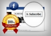 offer you 666+ Facebook Subscribers 
