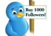 give 10000 real looking twitter followers with in1 day
