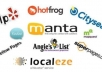 submit your business details on the ►►► 36 TOP US CITATION SITES ►►► to boost your google places listing