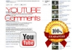 get you 111 + comments for your youtube video with 30k + views