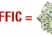 add 13,500 ++ Real Human Traffic to your site everyday FOREVER, unlimited web traffic