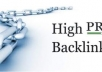 create 300 HIGH PR BACKLINKS PR 2 - PR4