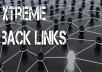 create permanent 1000+ best backlink containing edu,gov,dofollow pointing to your website with full details report