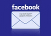 give you 1.5 million facebook verified email id database
