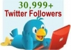 give 30999 real looking twitter followers within 48 hrs