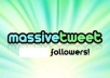 tweet your products or services to 300000 HUMAN followers 2 times in 2 days