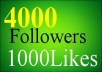 get 20000 instagram followers and 20000 instagram likes to your account In 24 hour and without password 