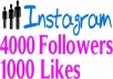 get you 9500 Instagram Followers + 3000 Instagram Likes Within 24 hours or less