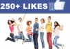 give u 170+ real & true facebook like by real user in 5 days