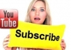 give you 60+ youtube real subscriber to your youtube channel