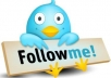 give u real 100% Guaranteed 120+ twitter follower for u'r any twitter ID in 6 days