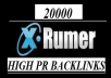 create Xrumer Backlinks 20000, 40000, 60000, 80000, 100000 Verified, Do Follow, Publicly Visible Forum Profiles