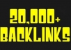 do MASSIVE ScrapeBox blast of Guaranteed 20000+ live blog comment Backlinks just 