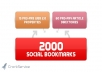 create 75 PR3 to PR8 seo LlNKWHEEL and 2000 social bookmarking backlin for youks