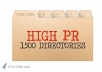 submit your website to 1500+ High PR web directories