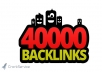 make 40,000 blog comment backlinks with your anchors