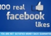 give you 120+ real facebook like from real id NOT FROM BOT