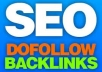 create 2000+ DOFOLLOW Backlinks to your website + 2000 HIGH PR backlinks