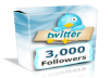 Get you 3,000+ [3k] TWITTER FOLLOWERs  [instantly]