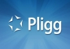 develop pligg social bookmarking website
