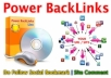 Send you Special 3600+ Social Bookmark List and 4 Million Auto Approve Blog Comment Link For Strong Backlink