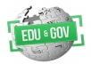 create 200+ high PR contextual backlinks from 100 unique gov and edu wiki domains just