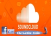 provide you 1800 likes in soundcloud track