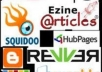 make over 30+ PR3 to PR8 web 2 0 contextual backlinks and 5000 blog comments to created properties and include pinging submission with report