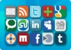 submit your site URL to Social Bookmarking site (100+ sites) order now!!
