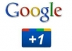 give 125 genuine google +1 votes to increase your ranking to your link / website, blog just