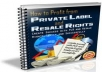 give you 10 Brand New Niche Market eBooks With Private Label Rights