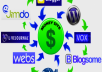 Create (Penguin SAFE) 50 WEB 2.0 PR3 to PR8 linkwheel + 2000 Social Bookmarks  100% Penguin &amp; Panda Safe for