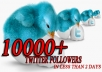 Add 10000 Twitter Followers To Your Account