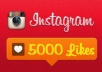 give 5000+ Instagram Followers OR 5000+ Instagram Likes(1-20Pics) on your Instagram profile